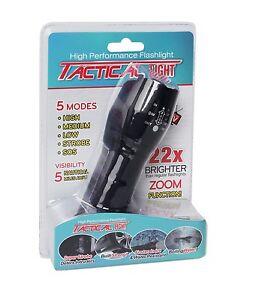 Tactical Strobe Flashlight   eBay