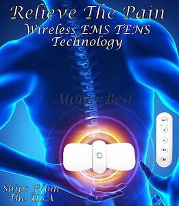 WIRELESS Smart TENS Machine Massager Unit Body Muscle Pain Relief Welshpool Canning Area Preview