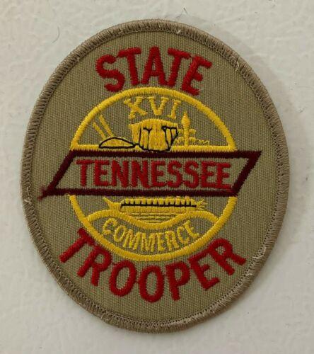 Tennessee Highway Patrol State Trooper Uniform Shoulder Patch