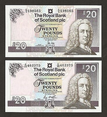 2010 / 16 Scotland £20 Pounds ( The Royal Bank Of Scotland  )  Uncirculated