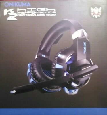 Gaming Headset Over Ear for PS4, XBox One New Blue/Black