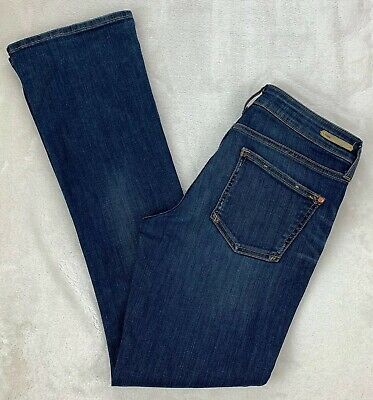 Anthropologie Pilcro and The Letterpress Stet Fit Bootcut Jeans Stretch Size 27