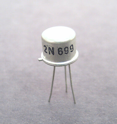 2n699 Npn Transistor Audio Outputvideodriver Find In Older Transistor Radios
