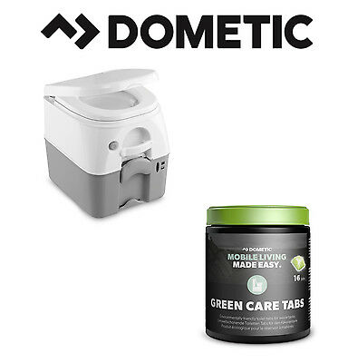 DOMETIC 976G Portable Toilet & GreenCare Tabs Bundle Motorhome Camper Caravan for sale  Shipping to Ireland