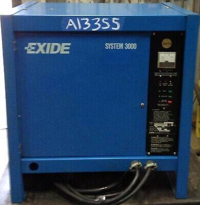 Exide Battery Charger - Tested - Good - 24 Volt 680ahr 3 Phase