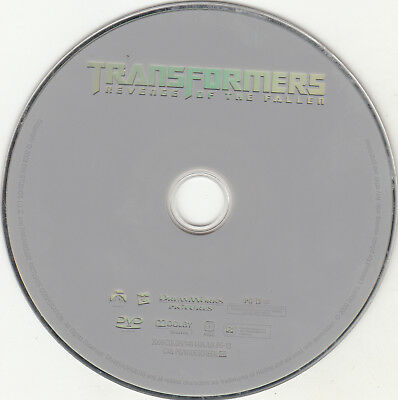 Transformers: Revenge of the Fallen (DVD, 2009) DISC ONLY