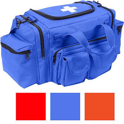 First Responder Emergency Carry Bag Medical Aid EMT EMS Paramedic Trauma Jump ()