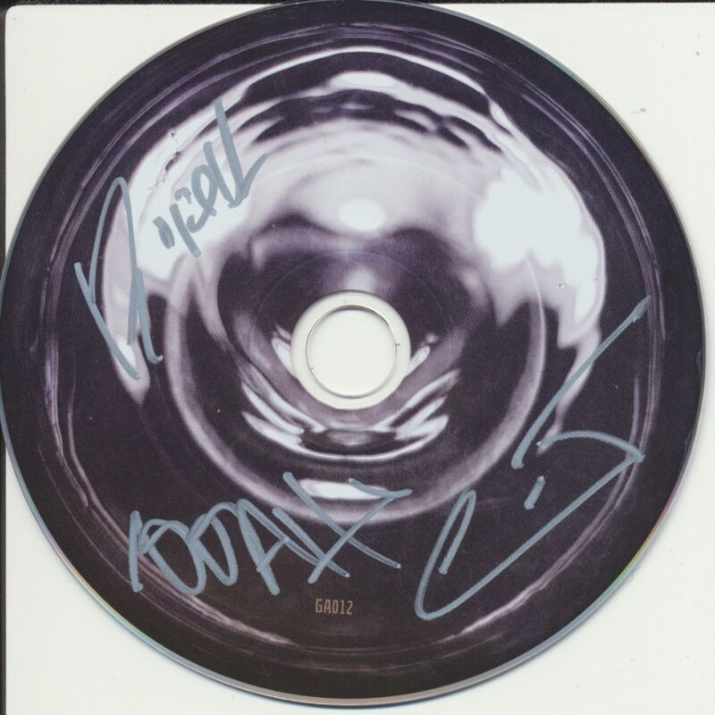 GLITCH MOB SIGNED LOVE DEATH IMMORTALITY CD DISK