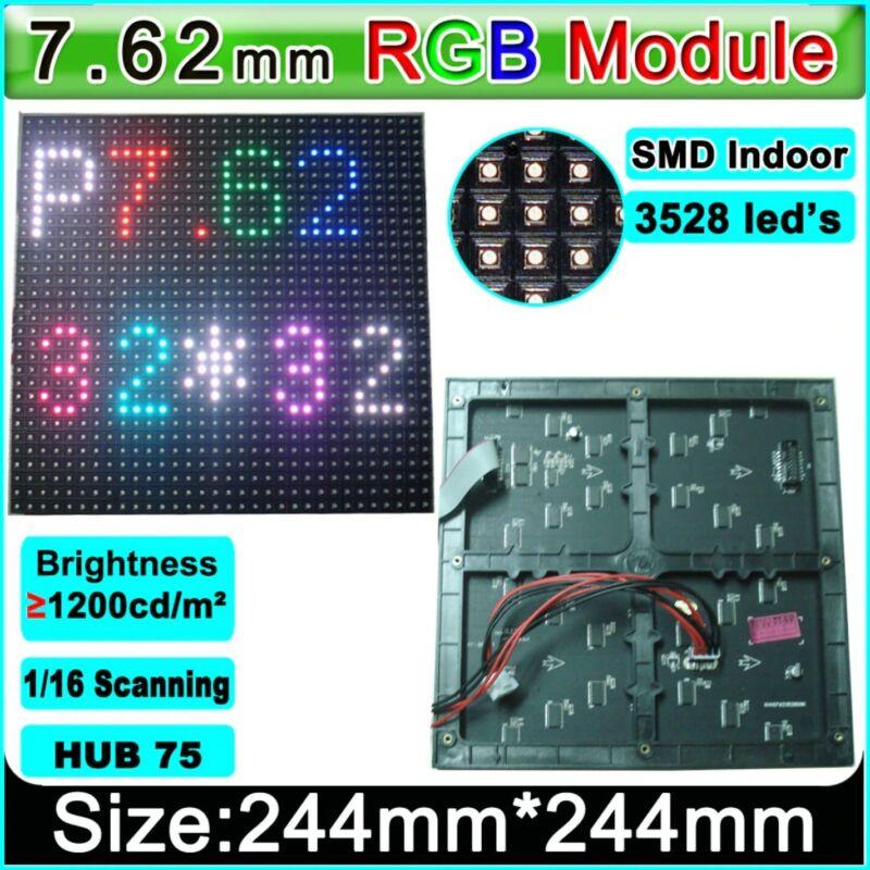 40pcs of P7.62 32x32 RGB LED Matrix Panel - 7.62mm pitch LED Display Module