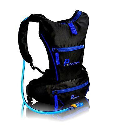 PREMIUM Water Hydration Bladder, Backpack & FREE Waist Pouch