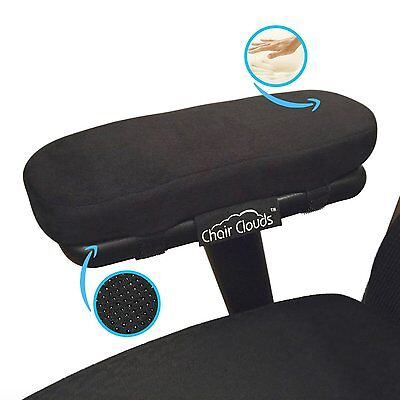 Chair Clouds Memory Foam Armrest Cushion Pads Elbow Pillow Arm Rest Cover Sale