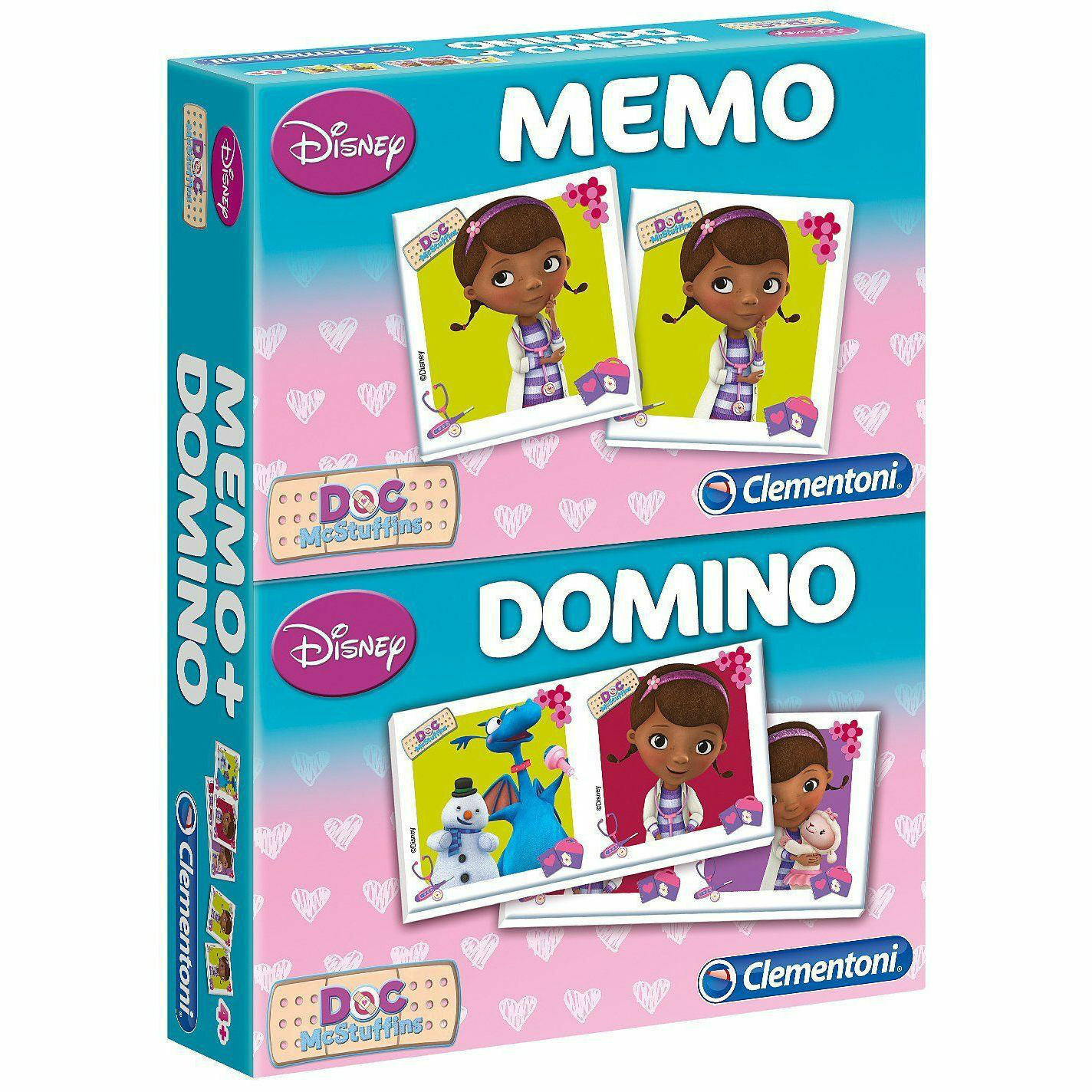 Mémo + domino DOCTEUR LA PELUCHE