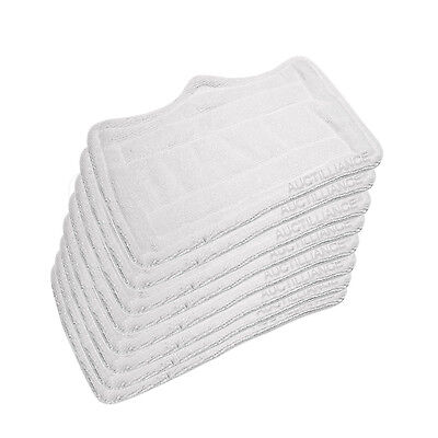 Clean Co. Steam Mop Pads for Euro Pro Shark Microfiber Pad Replacement 8,4 or 1