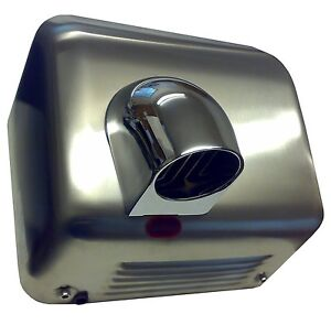 CHROMED-STEEL-Auto-Automatic-Electric-Hand-Dryer