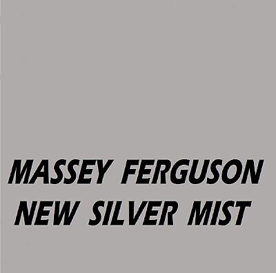 Massey Ferguson New Silver Mist Ral9150 Agricultural Tractor Enamel Gloss Paint