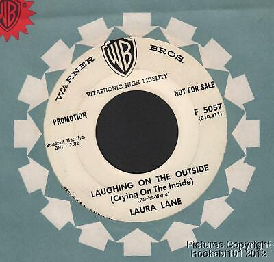 1959 Laura Lane Teen Girl DJ 45 (Laughing on the Outside - Crying on the