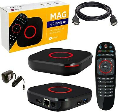 MAG 424 W3 Mag 420W3 4K Built-In Wifi & HDMI Cable (The Evolution of Mag 324)