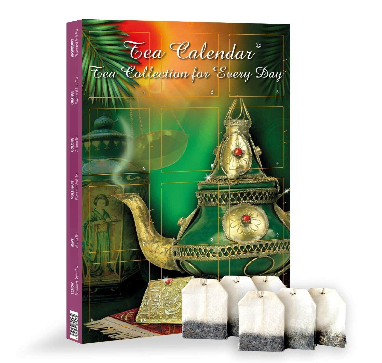 Tea Advent Calendar 2020 | Gift Set of 24 Bags in 12 Varieti