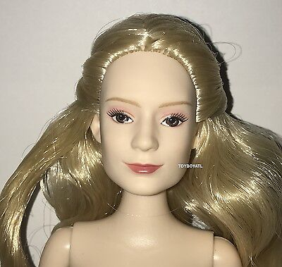 Disney Alice Through the Looking Glass Classic Nude Fashion Doll Blonde Hair NEW