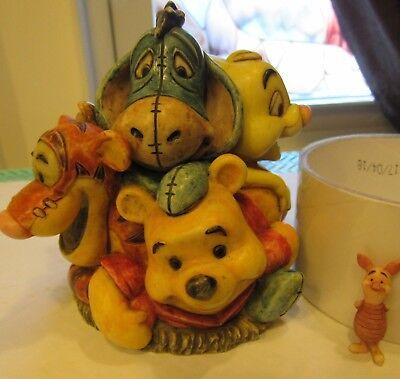 Harmony Kingdom Disney Winnie the Pooh Jubilee Box Lim Ed 500 Tigger Eeyore Owl