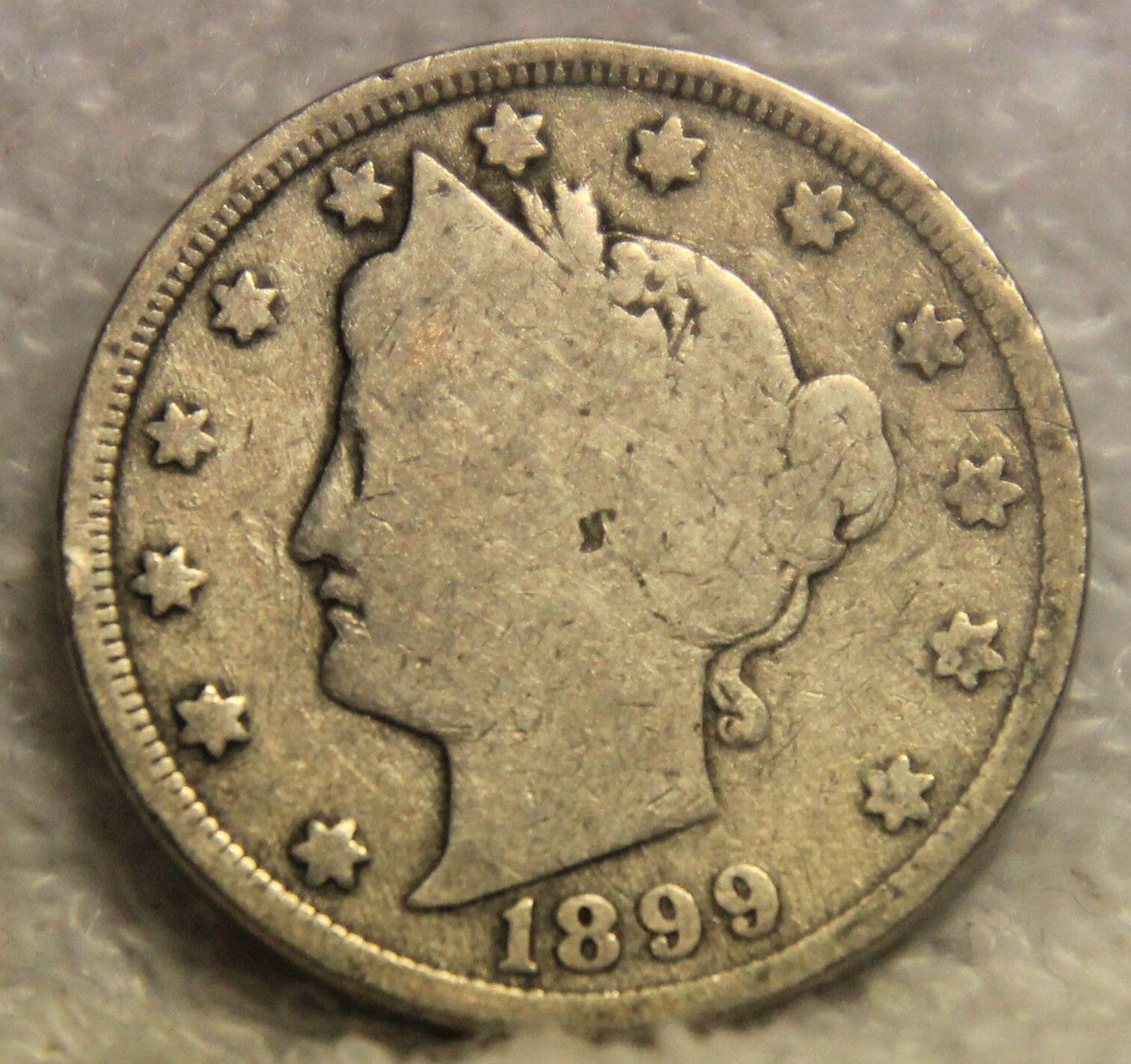 1899 Liberty Nickel - $3.95