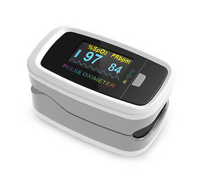 Trackaid Premium Fingertip Pulse Oximeter Blood Oxygen Spo2 Monitor