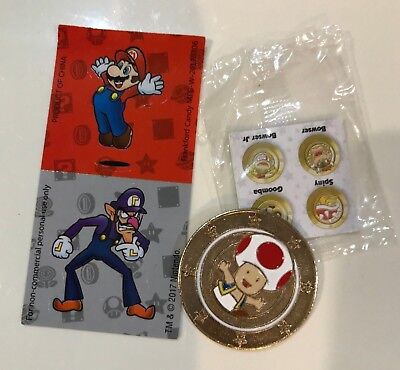 Nintendo Super Mario Wonder Ball Chocolate Candy Toad Coin