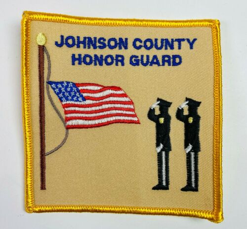 Johnson County Honor Guard Police Sheriff Tennessee TN Patch (A1)