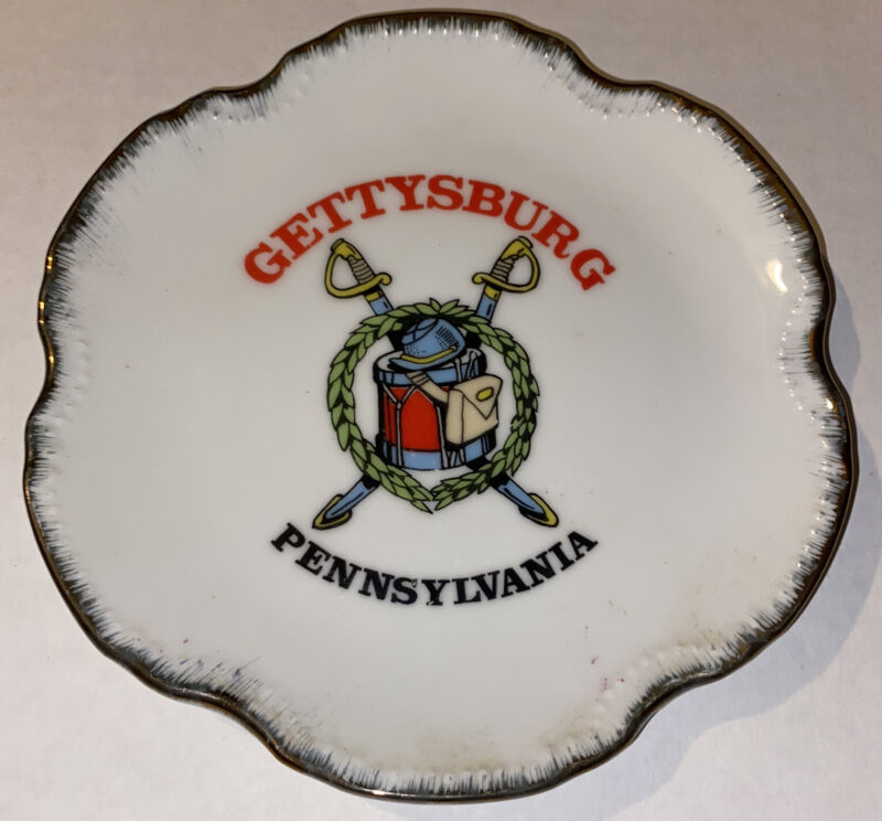 Gettysburg Pennsylvania Collectible Decorative Plate Vintage
