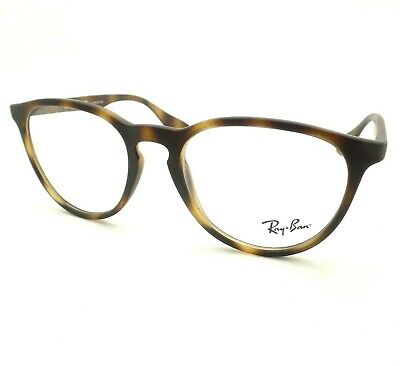 Ray Ban RB 7046 5365 Matte Havana Rubber RX Frame New Authentic (Ray Ban Rubber Frame)