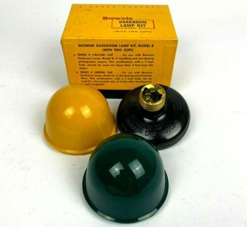 Brownie Darkroom Lamp Model B Series 2 (red) Cup w/ Original Box USA Made