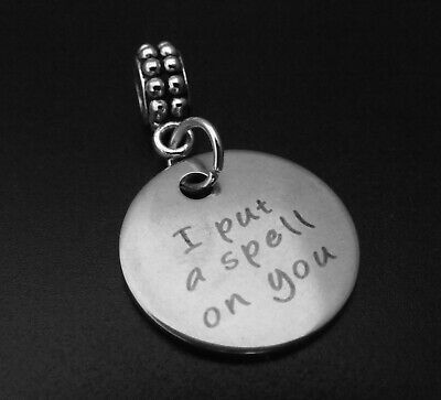 I put a spell on you Charm for Brand Bracelets Witch Hocus Pocus Halloween  - Witches Spells For Halloween