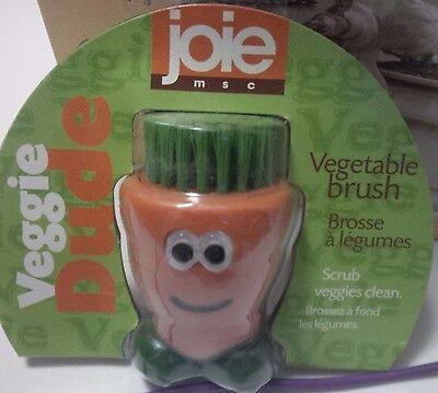 Msc Joie Veggie Dude Vegetable Brush Carrot Feet Healthy Foods Nylon Bristles