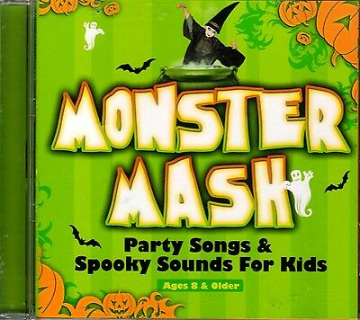 MONSTER MASH: PARTY SONGS & SPOOKY SOUNDS FOR KIDS! HALLOWEEN MUSIC & MORE! - Song For Halloween