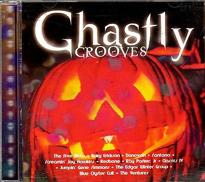 GHASTLY GROOVES: CLASSIC HALLOWEEN MUSIC PARTY SOUNDTRACK! ALL ORIGINAL ARTISTS!