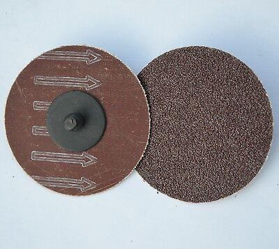 50 3 Abrasive Sanding Disc Type R Roloc Ao 60 Grit Twist Lock
