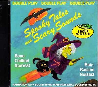 SPOOKY TALES and SCARY SOUNDS: SCARY NARRATION & CLASSIC HALLOWEEN SOUND EFFECTS