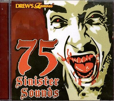 75 SINISTER SOUNDS: CREEPY COLLECTION OF HALLOWEEN HAUNTED HOUSE SOUNDS & - Creepy Halloween Music