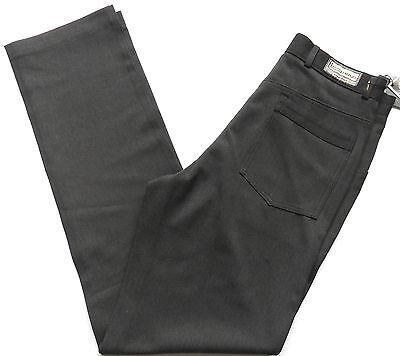 Men's Smart Pants Bi-stretch Lycra Charcoal & Black Waist Sizes: 28 - 38