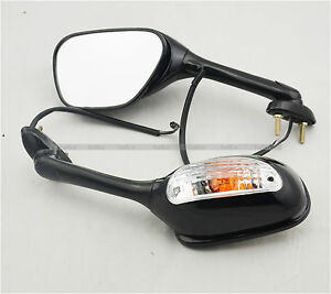 New Turn Signal Mirrors for K5 K6 K7 Suzuki GSXR 600 750 06 07 08 GSXR1000 05-08