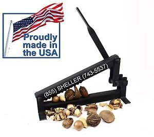 Nut Cracker for English/ Black Walnut Brazil Nut, Almond, Pecan, Macadamia