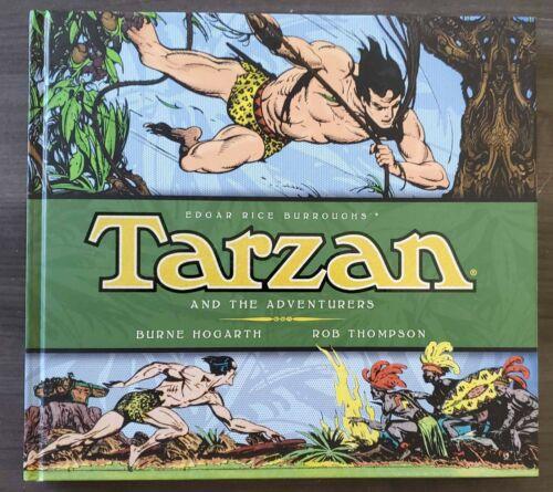 Titan Books - Tarzan & the Adventurers - Burne Hogarth Dailies and Sundays H/C