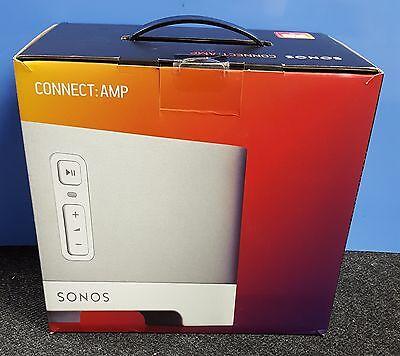New Sealed Sonos Connect Amp Zp120 Wireless Digital Media Streamer Amplifier
