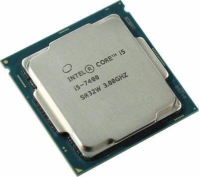 Intel Heart i5-7400 CPU Kaby Lake Quad-Core 3.0GHz LGA 1151 65W Desktop Processor