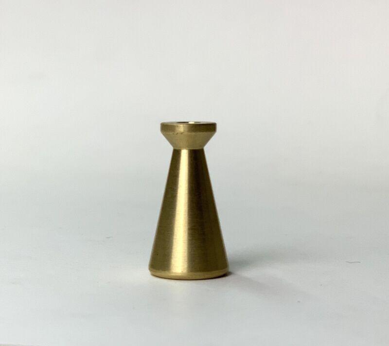 McCobb Brass Cone Replacement Hardware   mid century pull knob