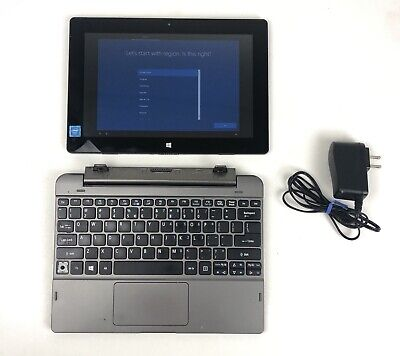 """Acer Switch One Aspire N15P2 Touch Screen Tablet Laptop 10.1"""" Win 10 Computer"""