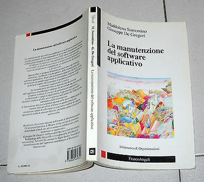 Maddalena Sorrentino De Gregori LA MANUTENZIONE DEL SOFTWARE APPLICATIVO 1995 Pc