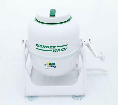 The Laundry Alternative Non-electric Mini Washing Machine Wonderwash 2 White