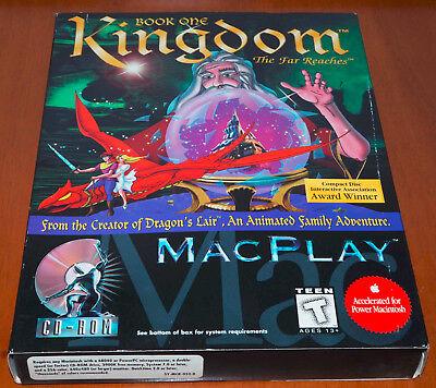 Kingdom: The Far Reaches (MAC, 1996) US Version Big Box Adventure Game Complete  segunda mano  Embacar hacia Argentina