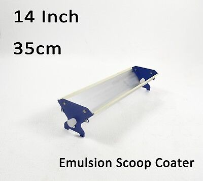 13.7 Screen Printing Emulsion Scoop Coater Aluminum Coating Tool With Stand